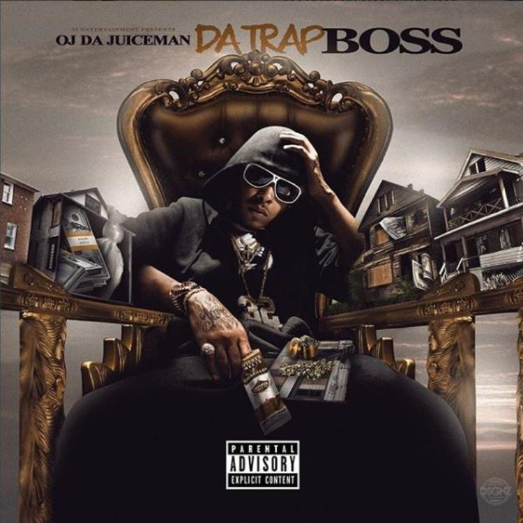 Oj Da Juiceman Da Trap Boss mixtape cover art streaming tracklist