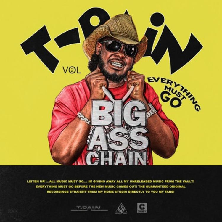 T-Pain Everything Must Go 2 mixtape cover art streaming tracklist